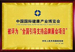 世博威健博会被商务部评为全国重点引导支持品牌展会项目