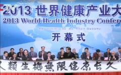2013(第二届)世界健康产业大会纪实