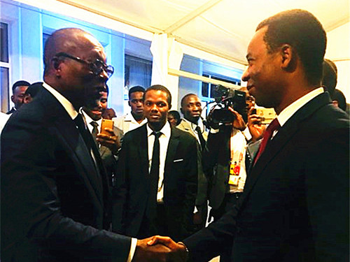 "Vice Mayor of Cotonou (Benin) Visits the Secretariat of the ""WHIC"""