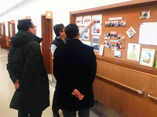 洪飞、顾开元考察日本医疗福祉协会在华项目