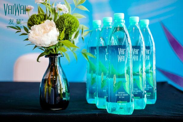 友斐VaiWai斐济天然矿泉水中国体验官授誉仪式在沪举办