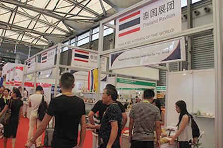 泰国展团 世博威健博会 进口食品饮料展